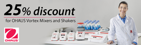 MIX IT and SHAKE IT -  Promoção Ohaus